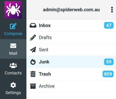 IMAP Junk Folder